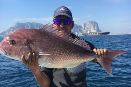 Ocean Dancer Straat van Gibraltar vissen