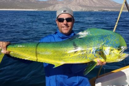 Open Panga I La Paz vissen