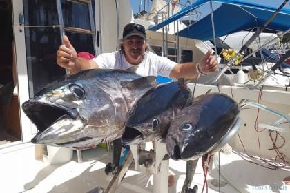 Raggie Fishing Tenerife vissen