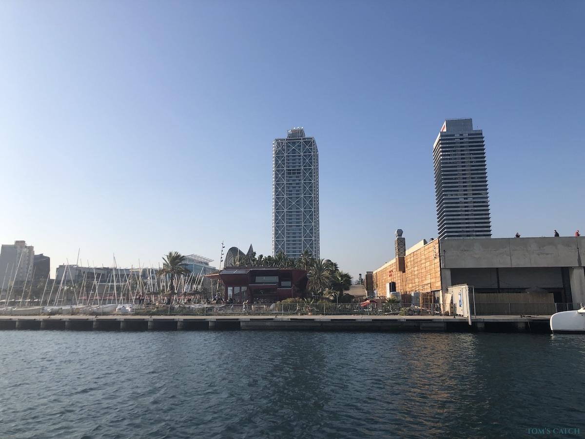 Barcelona visgebied