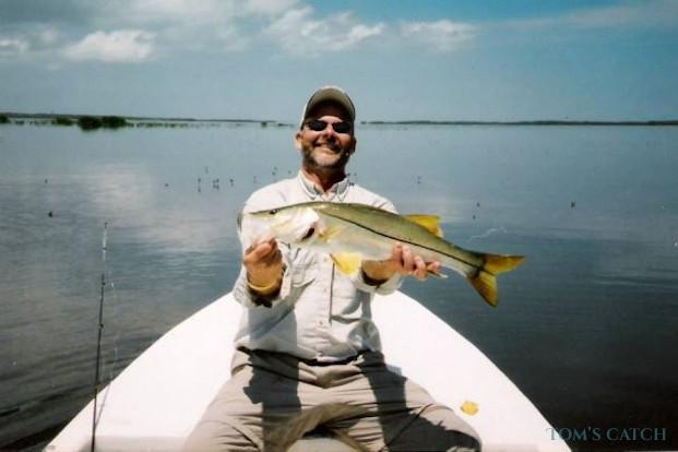 Binnensnoek (Snook) vissen