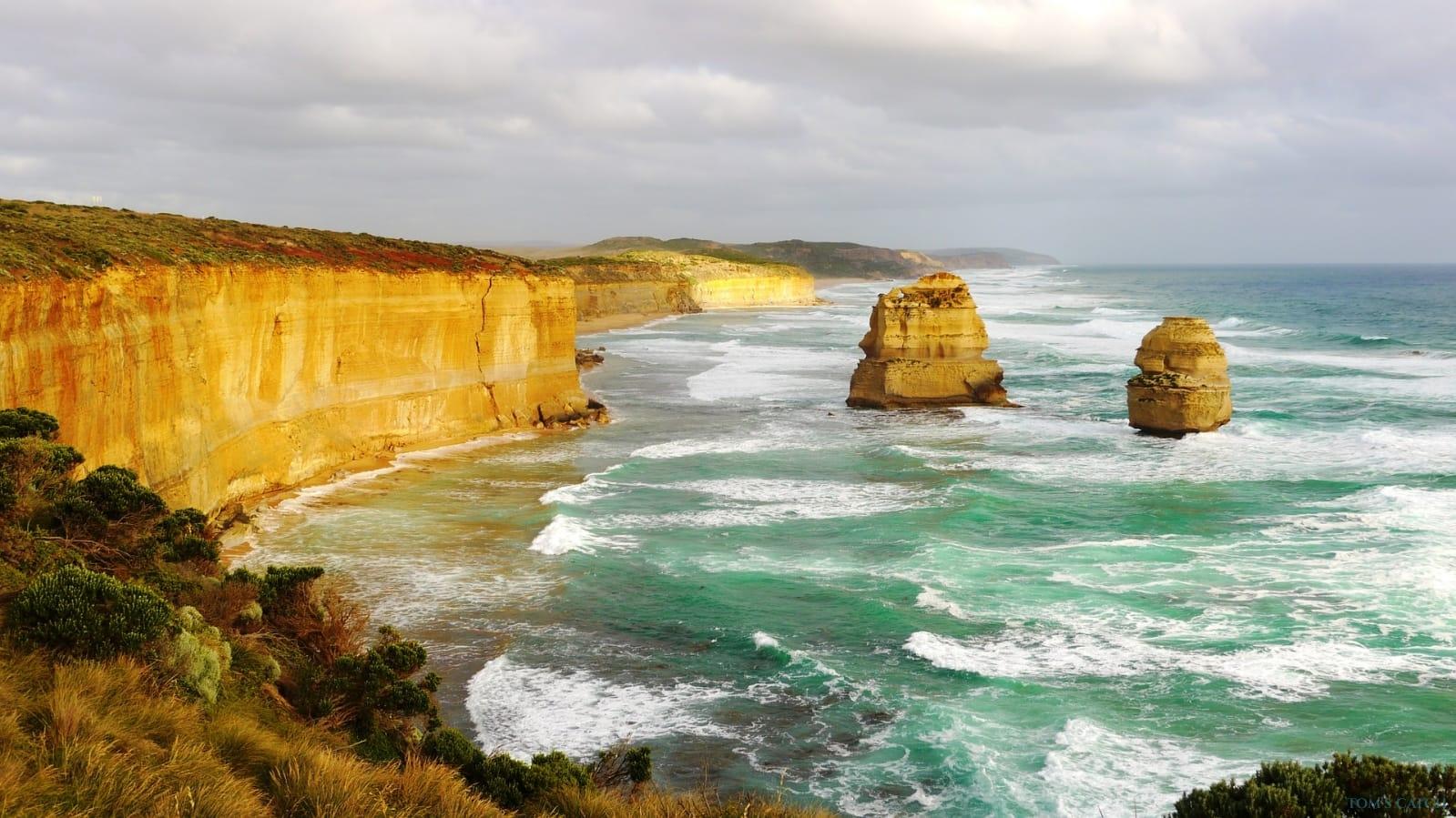 Zona de pesca Australia