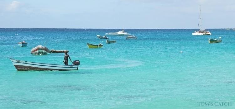 Zona de pesca Cabo Verde