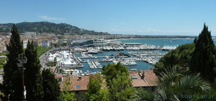 Zona de pesca Cannes