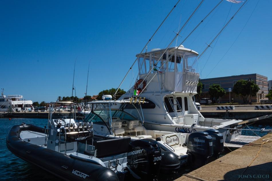 Zona de pesca Cerdeña