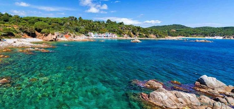 Zona de pesca Costa Brava