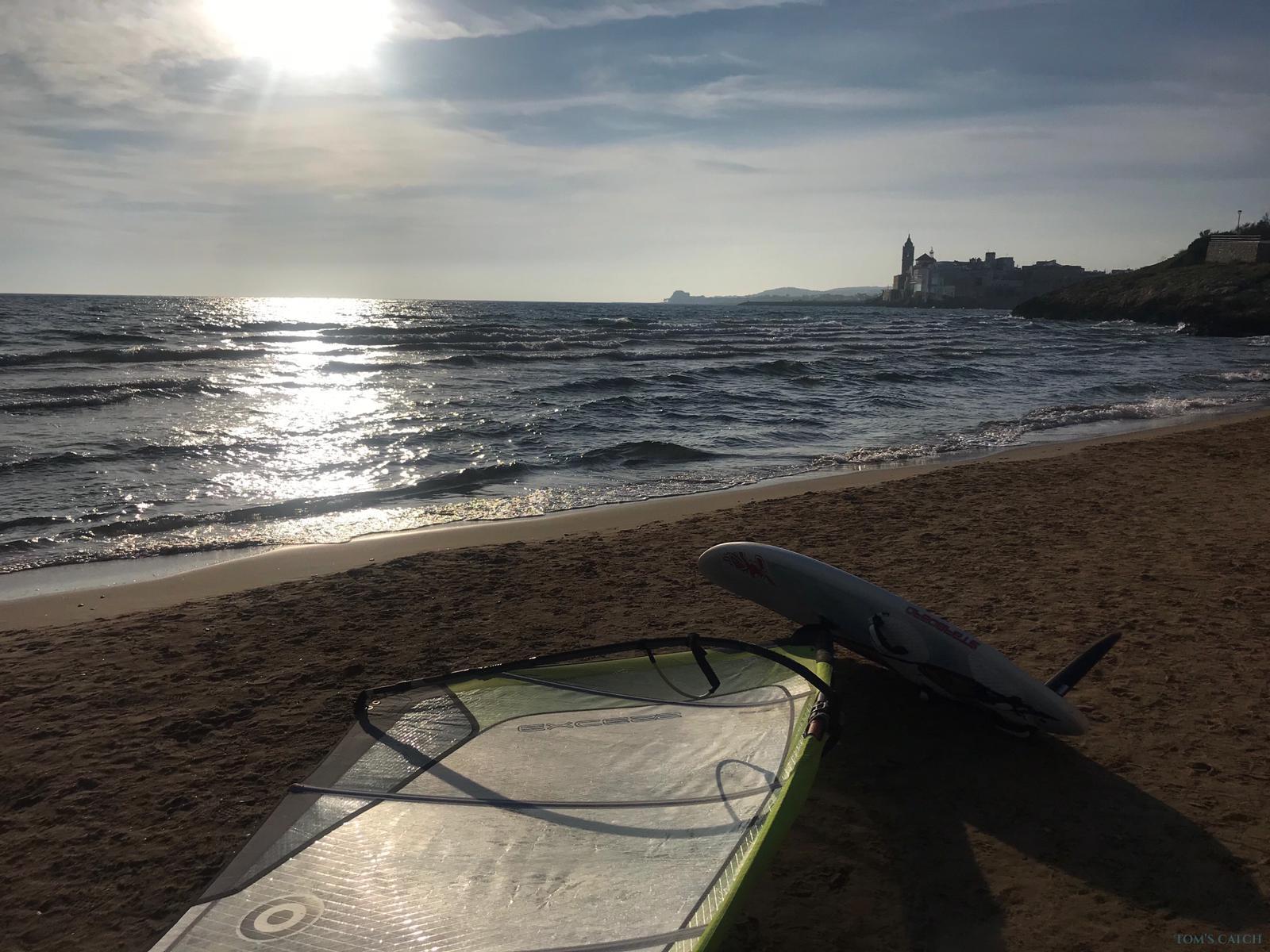 Zona de pesca Sitges