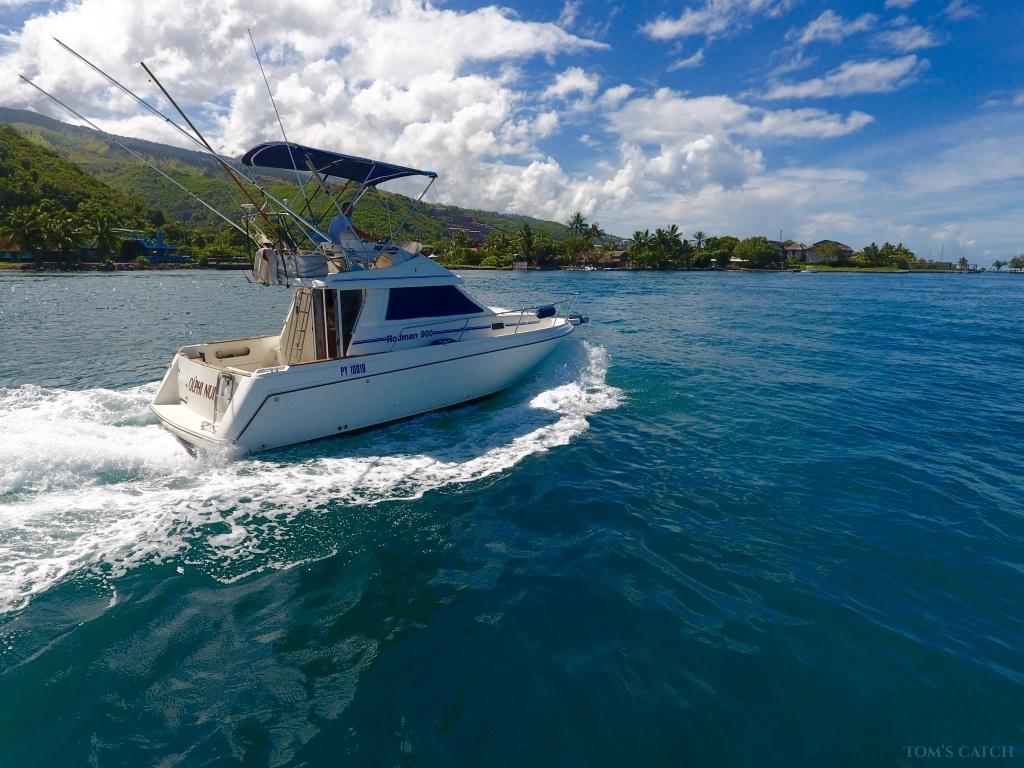 Zona de pesca Tahiti