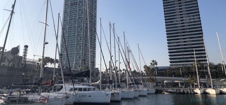 Zone de pêche Barcelone