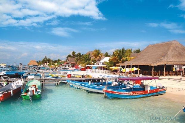 Zone de pêche Cancun
